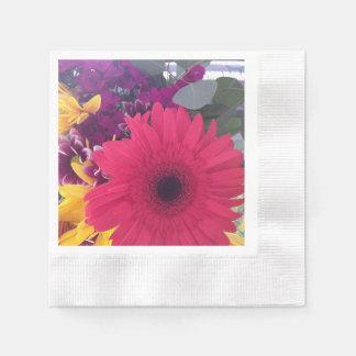 Serviette En Papier Fleurs de marguerite