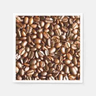 Serviette En Papier Grains de café