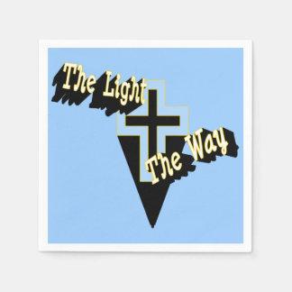 Serviette En Papier La lumière la manière