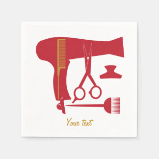 Serviette En Papier Outils de coiffure