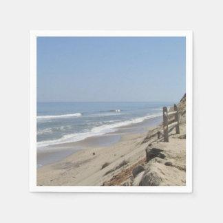 Serviette En Papier Photo de plage