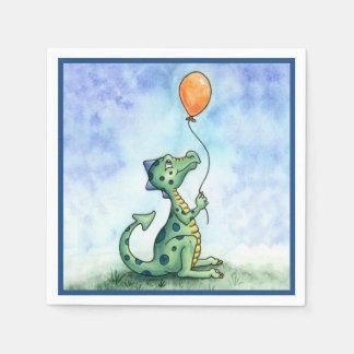 Serviette En Papier Serviettes de papier de dragon de ballon