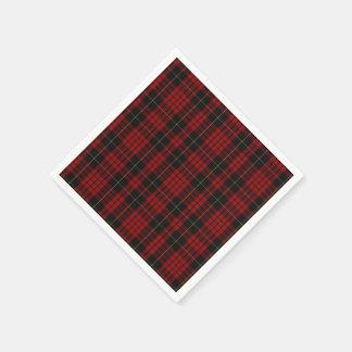 Serviette En Papier Serviettes de papier de plaid de tartan de