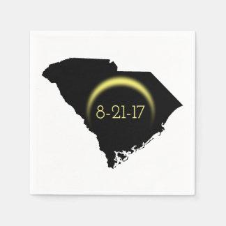 Serviette En Papier Silhouette totale 2017 de la Caroline du Sud