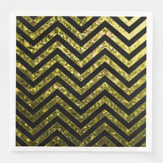 Serviette En Papier Texture d'étincelle de zigzag de serviette de