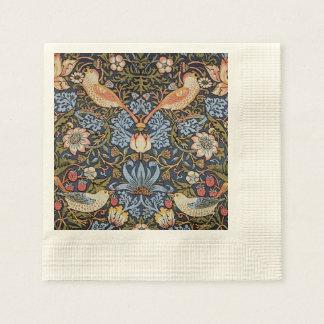 Serviette En Papier Voleur de fraise par William Morris
