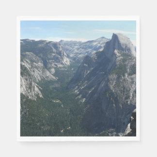 Serviette En Papier Vue de point de glacier en parc national de