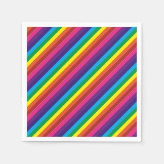 Serviette Jetable Approvisionnements colorés de partie de motif de