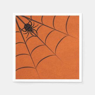 Serviette Jetable Araignée et Web