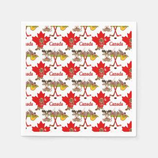 Serviette Jetable Canadien de feuille d'érable