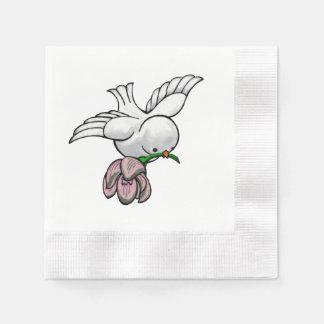 Serviette Jetable Chanson d'oiseau