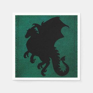 Serviette Jetable Cru médiéval d'épée de dragon