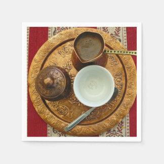 Serviette Jetable Ensemble de café bosnien Mostar