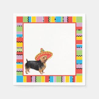 Serviette Jetable Fiesta Terrier australien