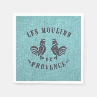Serviette Jetable Les Moulins De Provence