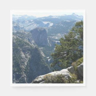 Serviette Jetable Mountain View de Yosemite en parc national de