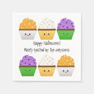 Serviette Jetable Partie mignonne de Halloween de petits gâteaux de