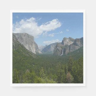 Serviette Jetable Point d'inspiration en parc national de Yosemite