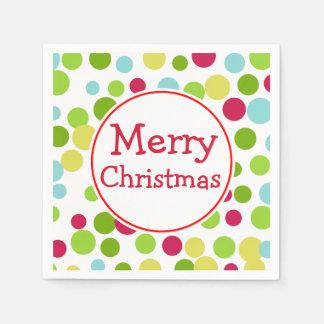 Serviette Jetable Serviettes de Joyeux Noël d'amusement