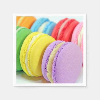 Serviette Jetable Serviettes de Macarons
