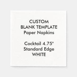 Serviette Jetable Serviettes de papier cocktail BLANC fait sur