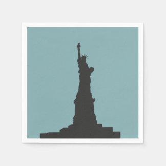 Serviette Jetable Serviettes de papier de Madame Liberty
