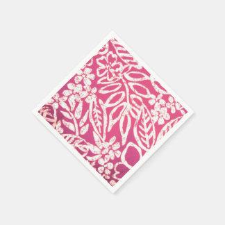 Serviette Jetable Serviettes de papier d'impression hawaïen