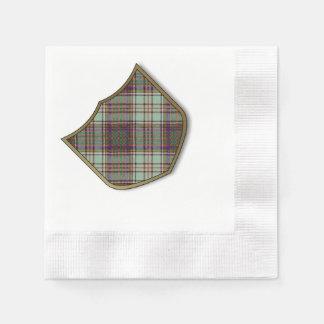 Serviette Jetable Tartan d'écossais de plaid de clan d'Anderson
