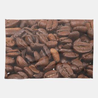 Serviettes de grain de café