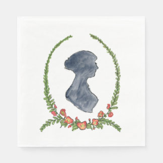 Serviettes de Jane Austen Serviettes Jetables