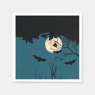 Serviettes de papier de partie de Halloween de Serviette Jetable