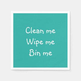 Serviettes de papier de partie serviettes en papier