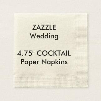 Serviettes de papier jetables de COCKTAIL fait sur Serviettes En Papier