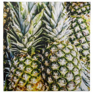 Serviettes De Table Ananas