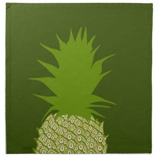 Serviettes De Table Ananas
