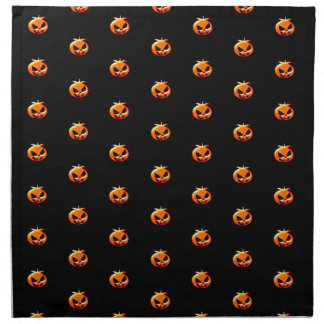 Serviettes De Table Citrouilles de Halloween