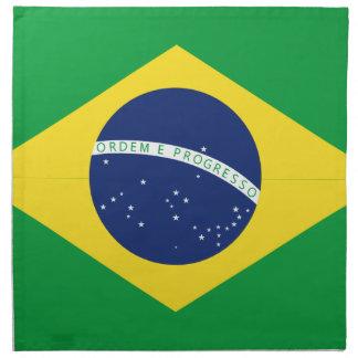 Serviettes De Table Drapeau brésilien
