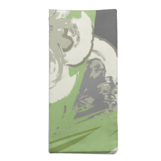 Serviettes De Table Fleurs Modernes D'art