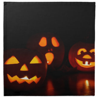 Serviettes De Table Jack-O-Lanternes