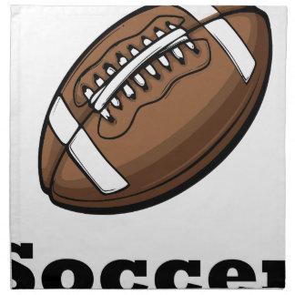 Serviettes De Table le football