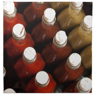 Serviettes De Table Lièges sur les sauces chaudes