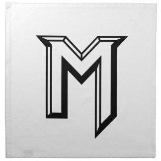 Serviettes De Table Logo principal de M