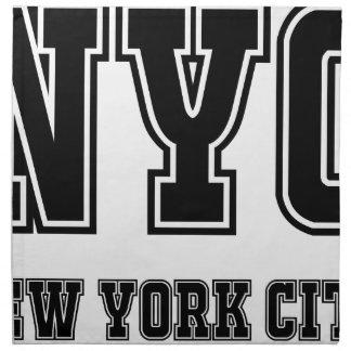 Serviettes De Table NYC New York City
