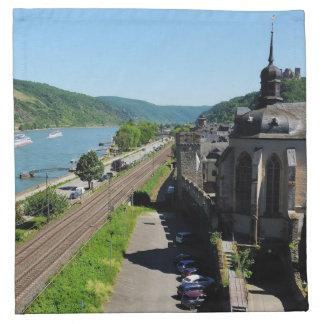 Serviettes De Table Oberwesel au Rhin