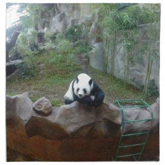 Serviettes De Table Ours panda