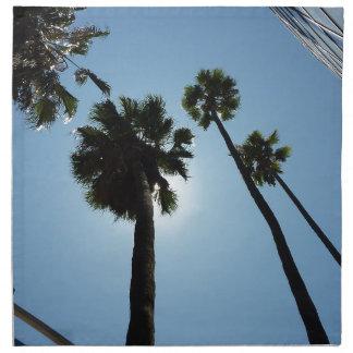 Serviettes De Table Palmiers Los Angeles Hollywood Etats-Unis