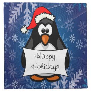 Serviettes De Table Pingouin de Noël