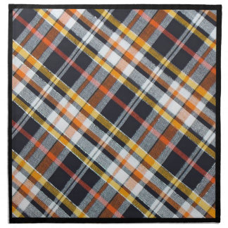 Serviettes De Table Plaid de Halloween
