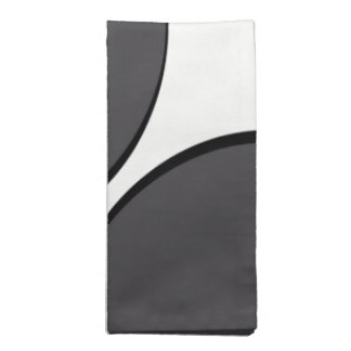 Serviettes De Table Point gris-foncé