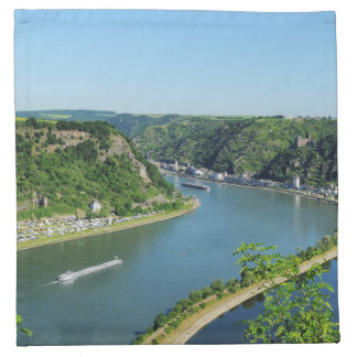 Serviettes De Table Rhin-vallée au Loreley